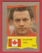 Canada Carl Valentine West Bromwich Albion